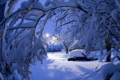 К чему снится большой снег