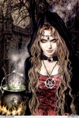 Колдунья ведьмы белая магия похудение