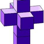 Задача с четырёхмерным кубом