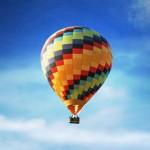 Навстречу белым облакам – на воздушном шаре!