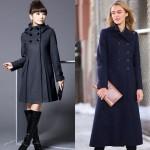 Трендовые женские пальто сезона 2017-2018